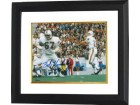Bob Kuechenberg signed Miami Dolphins 8x10 Photo Custom Framed 17-0
