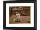 YA Tittle signed New York Giants Blood 16x20 (Sepia) Photo HOF 71 Custom Framed