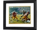 Billy Kilmer signed Washington Redskins 8x10 Photo Custom Framed