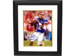 Chris Leak signed Florida Gators 8x10 Photo 06 Champs Custom Framed