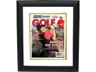 Tiger Woods unsigned 2012 Athlon Sports PGA Golf Magazine Cover Custom Framed