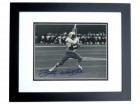Billy WHITE SHOES Johnson Autographed Houston Oilers 8x10 Photo BLACK CUSTOM FRAME