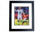 Brandon Weeden Signed - Autographed Cleveland Browns 8x10 inch Photo BLACK CUSTOM FRAME - Guaranteed to pass PSA or JSA