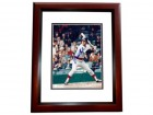 Bernie Carbo Signed - Autographed Boston Red Sox 8x10 inch Photo MAHOGANY CUSTOM FRAME - Guaranteed to pass PSA or JSA