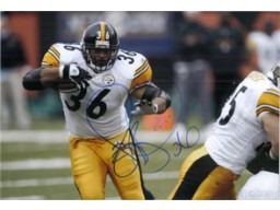 Jerome Bettis (Pittsburgh Steelers) Signed 8x12 Photo (Can be cut down to make 8x10)