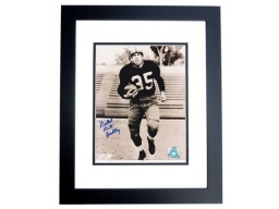 """Bullet Bill"" Dudley Autographed 8x10 Photo BLACK CUSTOM FRAME - Deceased Hall of Famer"