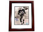 """Bullet Bill"" Dudley Autographed 8x10 Photo MAHOGANY CUSTOM FRAME - Deceased Hall of Famer"