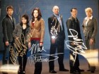 Bionic Woman Signed 11x14 Photo By Michelle Ryan, Miguel Ferrer, Will Yun Lee, Chris Bowers and Mae Whitman