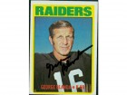George Blanda (Oakland Raiders) Signed 1977 Sportscasters Card