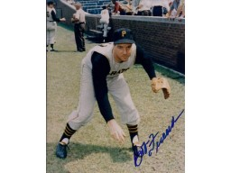 Bob Friend Autographed Pittsburgh Pirates 8x10 Photo