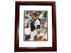 Bob Geren Signed - Autographed New York Yankees 8x10 inch Photo MAHOGANY CUSTOM FRAME - Guaranteed to pass PSA or JSA