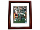 Bob Kuechenberg Signed - Autographed Miami Dolphins 8x10 inch Photo MAHOGANY CUSTOM FRAME - Guaranteed to pass PSA or JSA