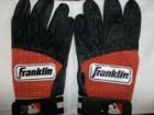 Brock Bond (Fresno Grizzlies) 1 Pair of Un-Signed Game Worn Baseball Batting Gloves