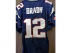 Tom Brady (New England Patriots) Signed Authentic New England Patriots Jersey Size 52