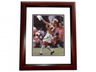Brandi Chastain Signed - Autographed Soccer 8x10 inch Photo MAHOGANY CUSTOM FRAME - Guaranteed to pass PSA or JSA