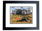 The Open Championship Signed - Autographed British Open 8x10 Photo BLACK CUSTOM FRAME - Fuzzy Zoeller, Curtis Strange, etc.