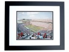 Tampa Bay Bucs Raymond James Stadium Unsigned 8x10 inch Photo BLACK CUSTOM FRAME