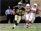 Reggie Bush (New Orleans Saints) Signed 8x10