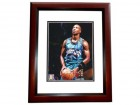Byron Scott Signed - Autographed Vancouver Grizzlies 8x10 inch Photo MAHOGANY CUSTOM FRAME - Guaranteed to pass PSA or JSA
