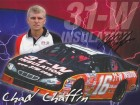 Chad Chattin Signed - Autographed Racing 8x10 inch Photo - Guaranteed to pass PSA or JSA