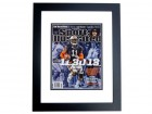Chris Davis Signed - Autographed Auburn Tigers Sports Illustrated SI Magazine BLACK CUSTOM FRAME - 109 yard game winning touchdown vs Alabama Crimson Tide