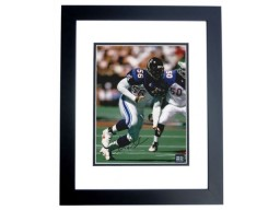 Chris Doleman Signed - Autographed Atlanta Falcons 8x10 Pro Bowl Photo BLACK CUSTOM FRAME - Guaranteed to pass PSA or JSA