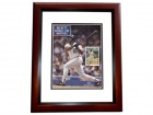 Cecil Fielder Signed - Autographed Detroit Tigers ORIGINAL Beckett Magazine Cover MAHOGANY CUSTOM FRAME Cover