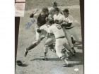Carlton Fisk Signed - Autographed Boston Red Sox 16x20 inch Photo - Witnessed JSA Certificate of Authenticity (COA)
