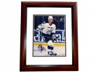 Chris Gratton Signed - Autographed Tampa Bay Lightning 8x10 inch Photo MAHOGANY CUSTOM FRAME - Guaranteed to pass PSA or JSA