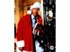 Chevy Chase Signed Christmas Vacation Standing Next To Tree 8x10 Photo
