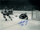 Gary Cheevers Autographed Boston Bruins 8x10 (B&W)