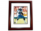Chris Johnson Signed - Autographed Tennessee Titans 8x10 Photo MAHOGANY CUSTOM FRAME