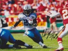 Chris Johnson Signed - Autographed Tennessee Titans 8x10 Photo