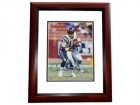 Charlie Joiner Signed - Autographed San Diego Chargers 8x10 inch Photo with Hall of Fame Inscription MAHOGANY CUSTOM FRAME - Guaranteed to pass PSA or JSA
