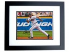 Chipper Jones Signed - Autographed Atlanta Braves 8x10 Photo BLACK CUSTOM FRAME - 1995 World Series Champion