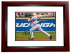 Chipper Jones Signed - Autographed Atlanta Braves 8x10 Photo MAHOGANY CUSTOM FRAME - 1995 World Series Champion