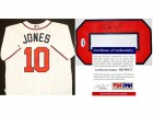 Chipper Jones Signed - Autographed Atlanta Braves Authentic Majestic White Jersey - PSA/DNA Certificate of Authenticity (COA)