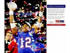 Chris Leak Signed - Autographed Florida Gators UF 2006 Trophy 16x20 inch Photo - 2006 Championship Game MVP - PSA/DNA Certificate of Authenticity (COA)