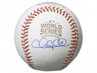 Chris  Coghlan Signed Rawlings Official 2016 World Series Baseball