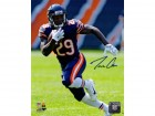 Tarik Cohen Signed Chicago Bears Action 8x10 Photo
