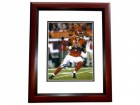 Carson Palmer Signed - Autographed Cincinnati Bengals 8x10 inch Photo MAHOGANY CUSTOM FRAME - Guaranteed to pass PSA or JSA