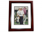 Corey Pavin Signed - Autographed Golf 8x10 Photo MAHOGANY CUSTOM FRAME