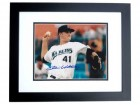 Chris Volstad Autographed Florida Marlins 8x10 Photo BLACK CUSTOM FRAME
