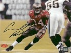 "Carnell ""Cadillac"" Williams Signed - Autographed Tampa Bay Bucs action 8x10 inch Photo - 2005 Rookie of the Year - Guaranteed to pass PSA or JSA"