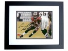 "Carnell ""Cadillac"" Williams Signed - Autographed Tampa Bay Bucs action 8x10 inch Photo BLACK CUSTOM FRAME - Guaranteed to pass PSA or JSA - 2005 Rookie of the Year"