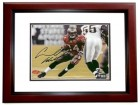 "Carnell ""Cadillac"" Williams Signed - Autographed Tampa Bay Bucs action 8x10 inch Photo MAHOGANY CUSTOM FRAME - Guaranteed to pass PSA or JSA - 2005 Rookie of the Year"