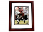 "Carnell ""Cadillac"" Williams Autographed Tampa Bay Bucs 8x10 ""Red Jersey"" Photo MAHOGANY CUSTOM FRAME"