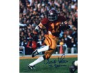 "Charles White Autographed USC Trojans 8x10 Photo with ""79 Heisman"" Trophy Winner inscription"