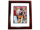 Charles White Signed - Autographed USC Trojans 8x10 inch Photo MAHOGANY CUSTOM FRAME - Guaranteed to pass PSA or JSA - 79 Heisman Trophy Winner
