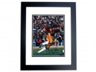 "Charles White Signed - Autographed USC Trojans 8x10 Photo BLACK CUSTOM FRAME with ""79 Heisman"" Trophy Winner inscription"